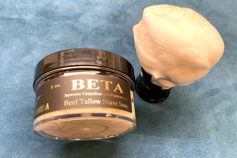 ILR BETA Shaving Soap 5 oz. (Japanese Grapefruit and Frankincense)