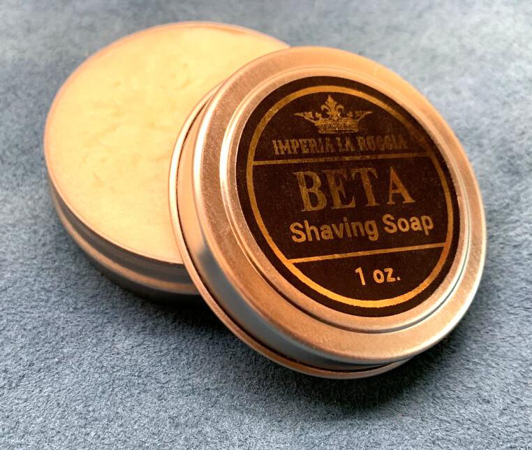 ILR BETA Shave Soap Sample Size 1 oz. (Japanese Grapefruit and Frankincense)