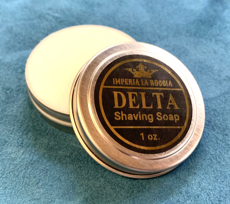 ILR DELTA Shave Soap 1 oz. Sample Size (Rosemary, Mint, and Sage)