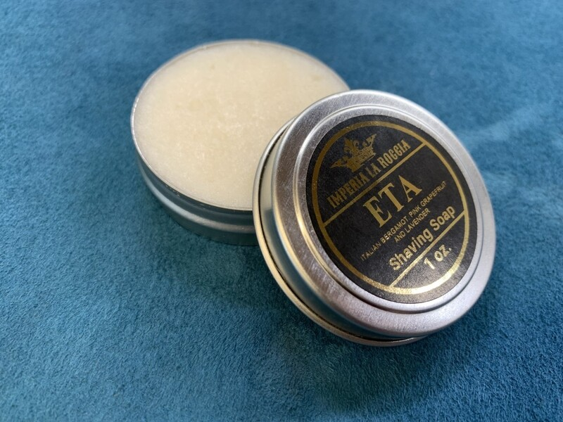 ILR ETA Shave Soap 1 oz. (Italian Bergamot, Grapefruit, and Lavender)
