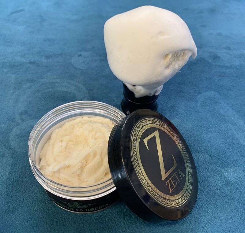 ILR ZETA Shave Soap 5 oz. (Bay Rum, Lime and Black Pepper)