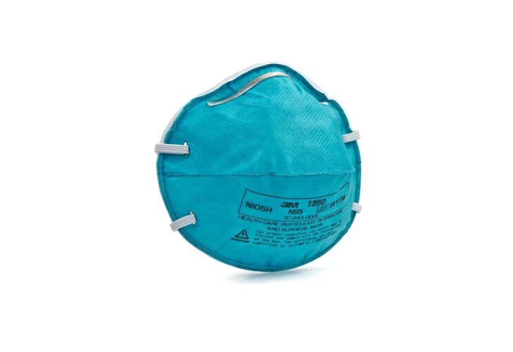 N95 - 3M™ Health Care Particulate Respirator and Surgical Mask, 1860
