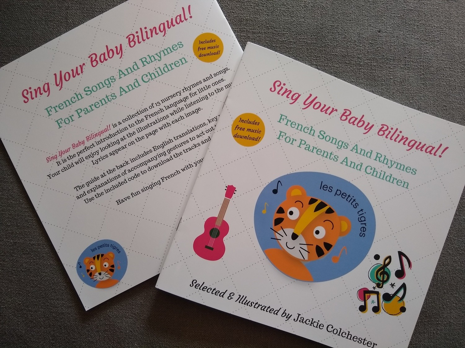 Sing Your Baby Bilingual - French Songs and Rhymes book with CD and free album download