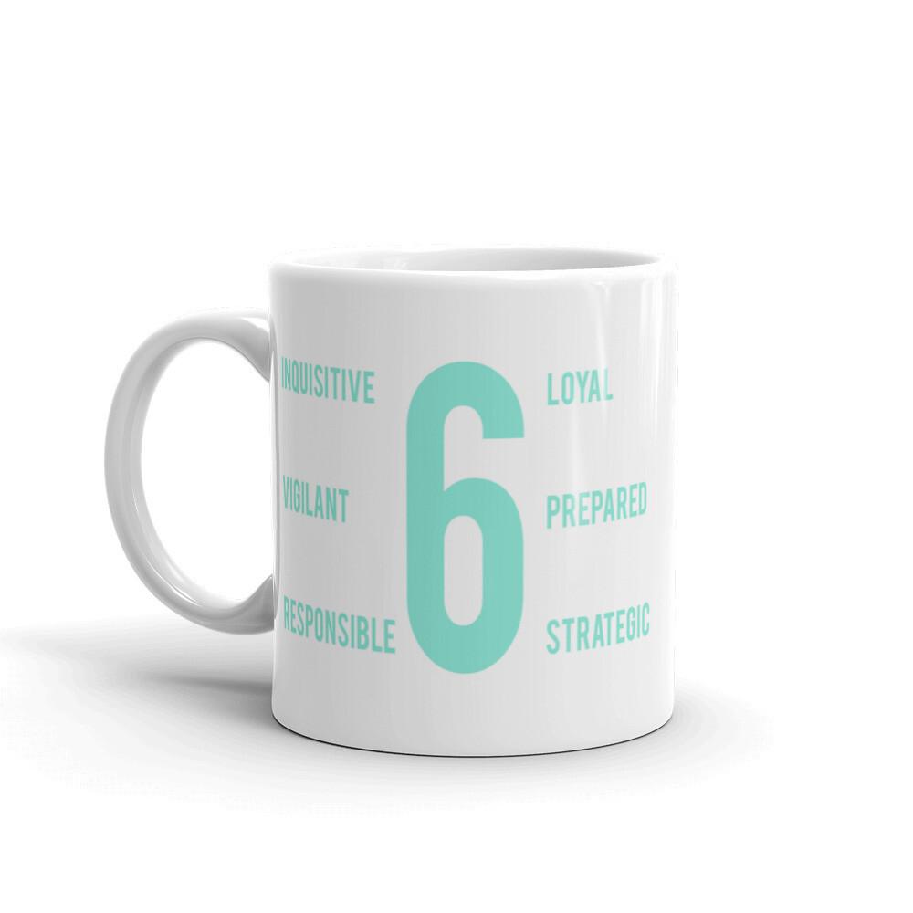 Enneagram 6 Mug