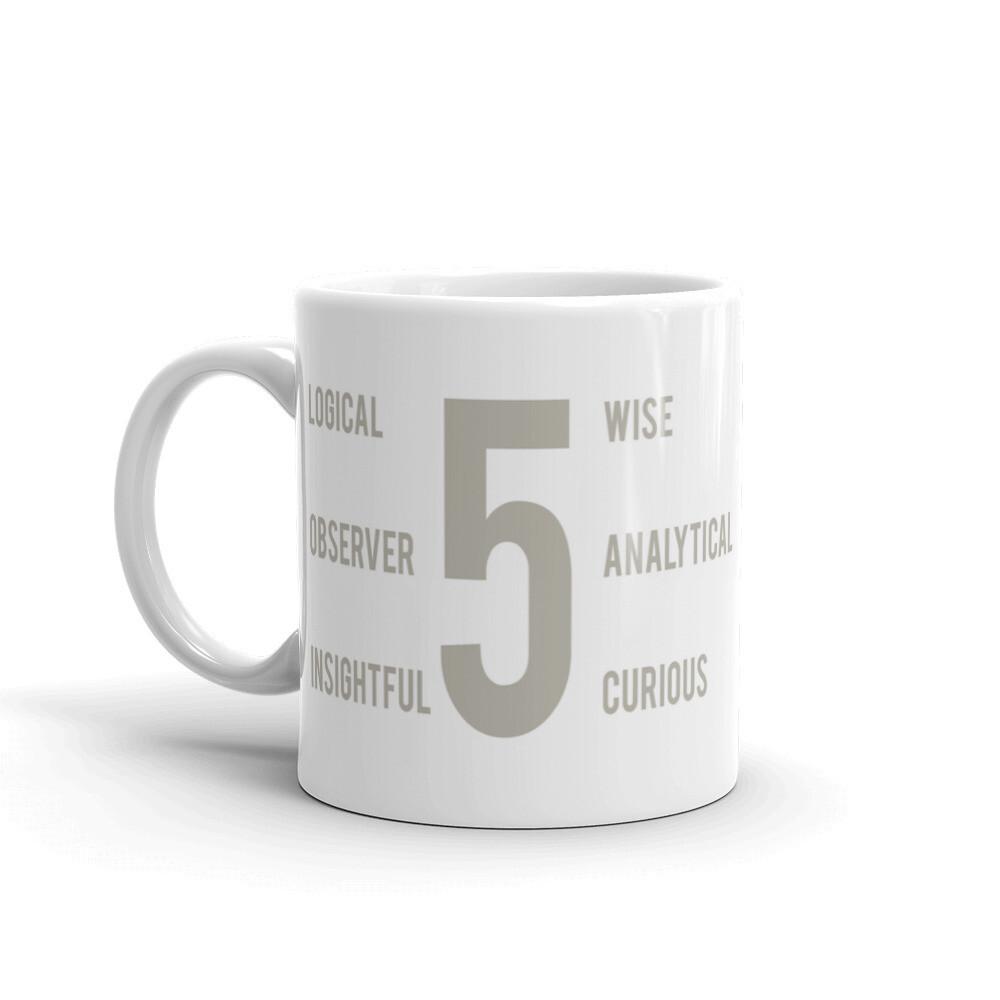 Enneagram 5 Mug