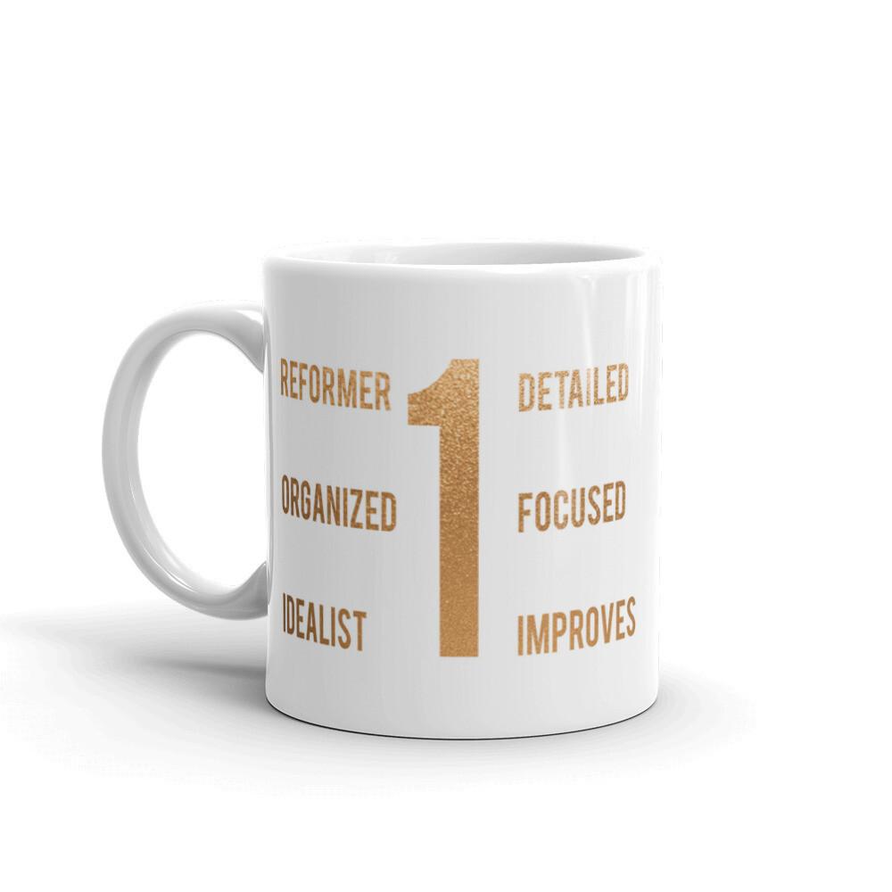 Enneagram 1 Mug