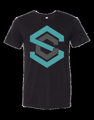 Black Tee with SC Logo