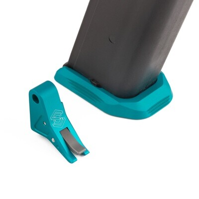 """""""SAGISI SQUEEZY"""" Trigger/Basepad Combo (Teal Shoe/Grey Safety)"""