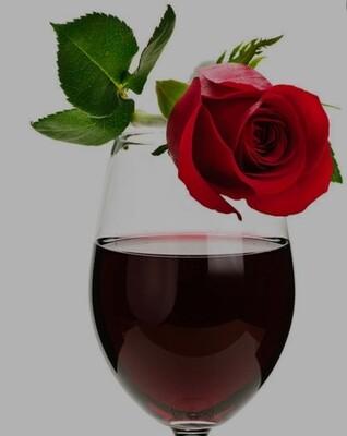 Single Filled Pen - Rose Red