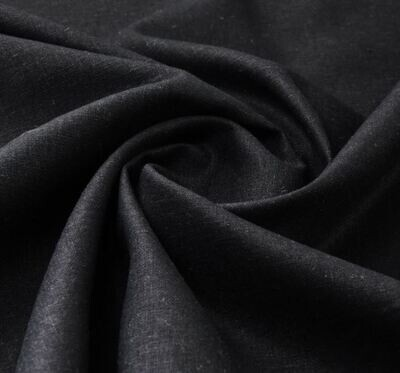 Single Filled Pen - Black Linen