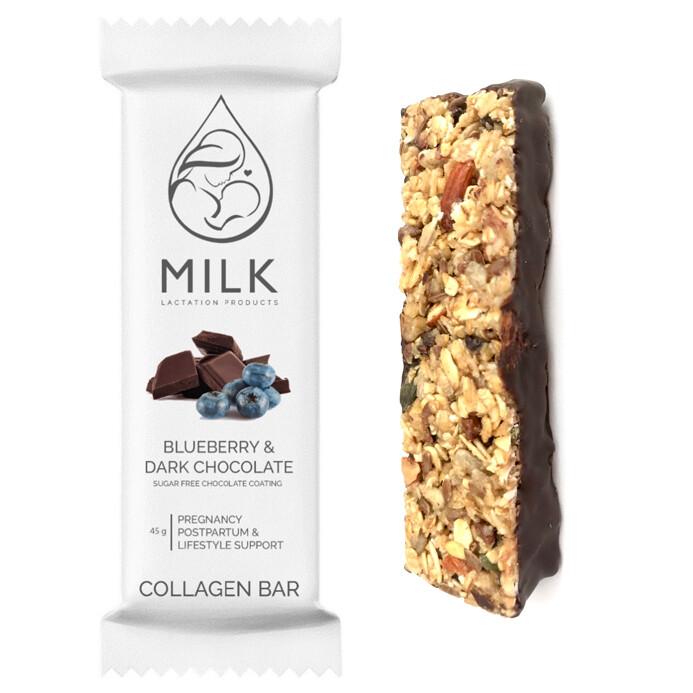 1x Loose Blueberry & Dark Chocolate Pregnancy & Postpartum Collagen Bars
