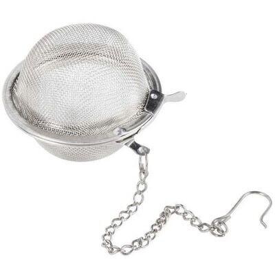 Stainless steel tea ball strainer
