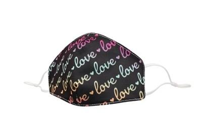 Rainbow Love Mask