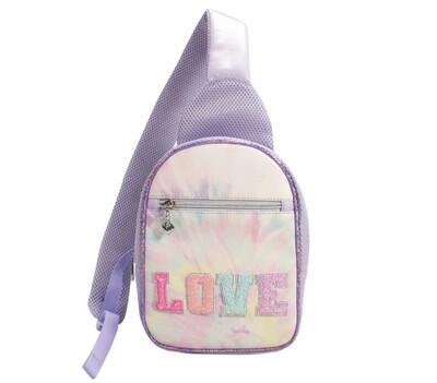 Mini LOVE Sling Backpack Purse