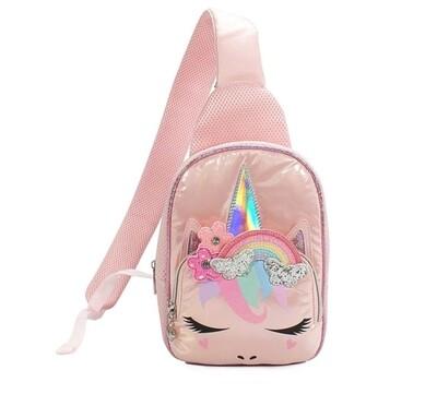 Mini Rainbow Sling Backpack Purse