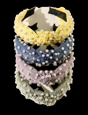 Girls Pearl Headbands