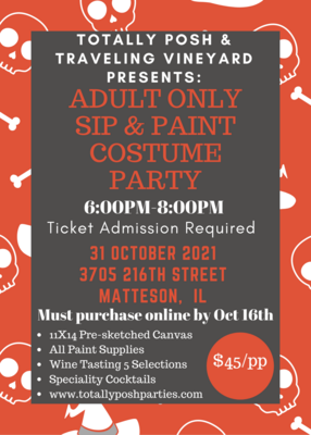 Adult Only Paint and Sip