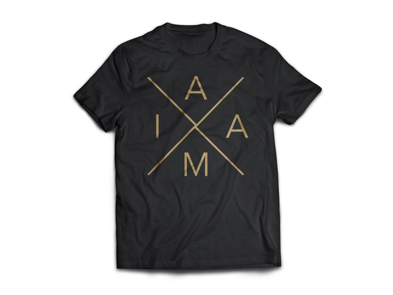 IAAM Cross. Black