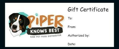 Gift Certificate - Piper Knows Best