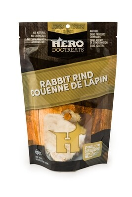 DEHYDRATED RABBIT RIND
