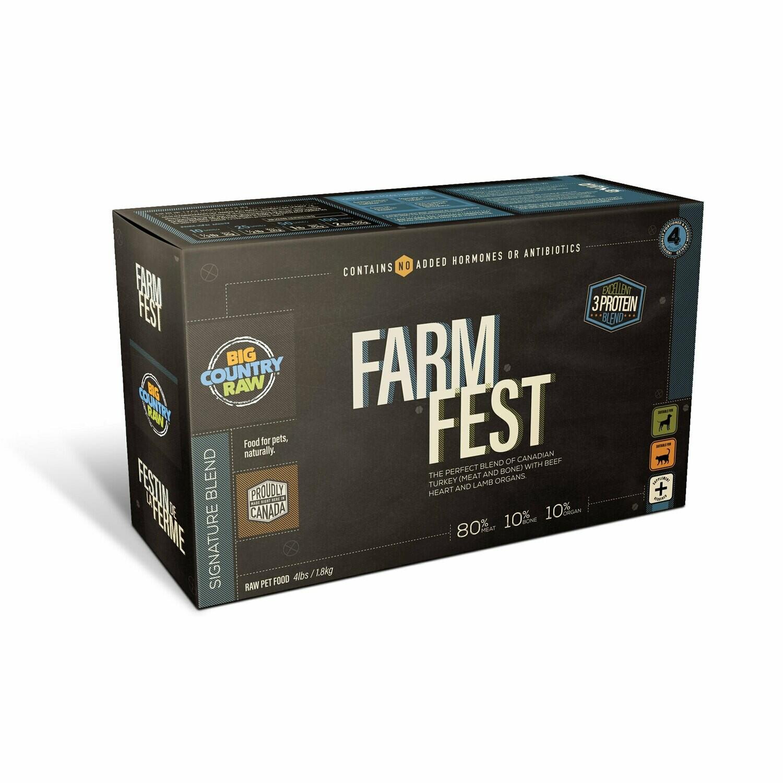 FARM FEST 4LB - Meat, Organ, Bone Only