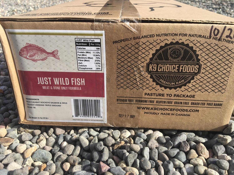 WILD FISH JUST - 20LB