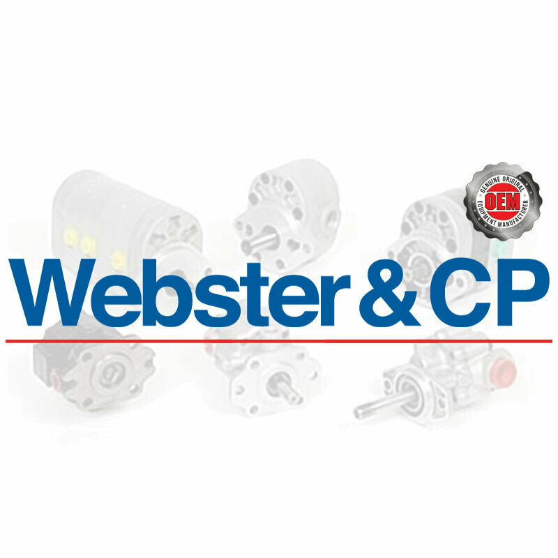 Part Number List for ALL Webster and CP pumps.  Please call for price & availability. 708-887-5400  weborder@qccorp.com