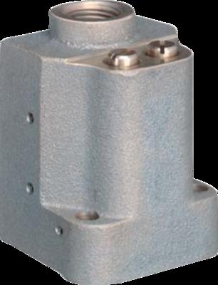 357054 - Duplex Switch PK-50C Subplate (SAE-4 Str. Thd.) Two Ports