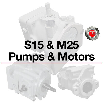 Part Number List for all S15 & M25 Pumps & Motors. For price and availability contact sales@qccorp.com or call 708-887-5400 Ext. 2.