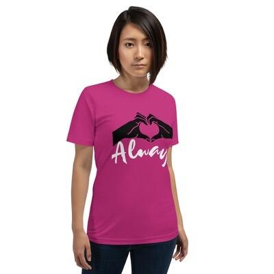 Short-Sleeve Unisex T-Shirt-Love Always