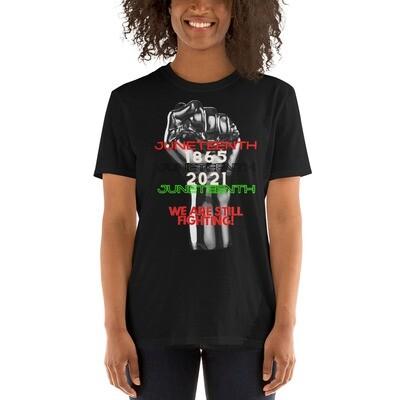 Short-Sleeve Unisex T-Shirt-Juneteenth