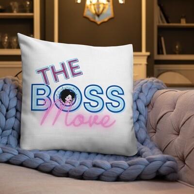 Premium Pillow-The Boss Move
