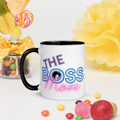 Mug with Color Inside-The Boss Move