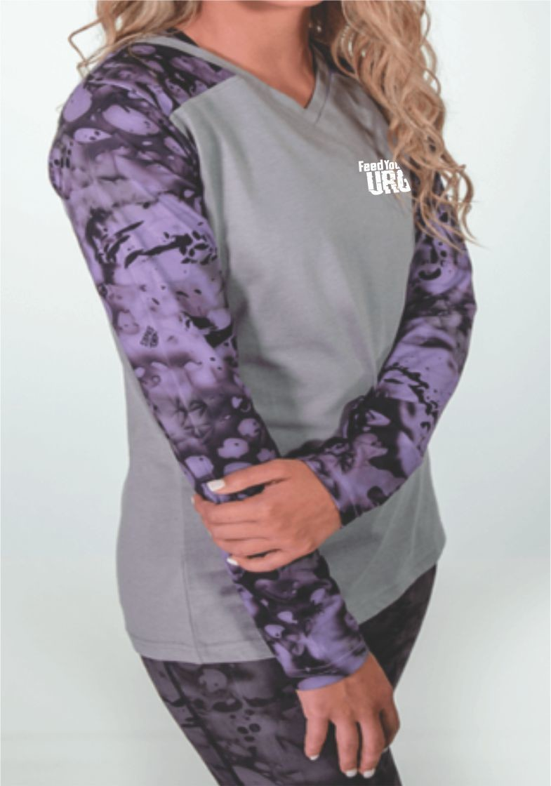 GALAXY LONG SLEEVE SHIRT - FEED YOUR URGE