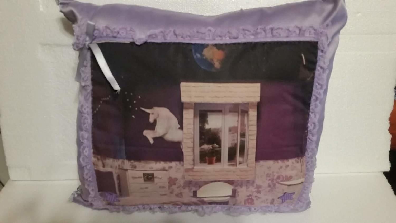 Purple Barbie Doll Pillow 3
