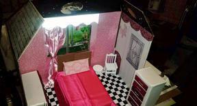 Pink and Black Galaxy Unicorn House 001