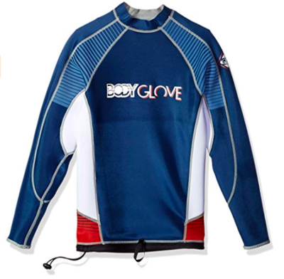 Body Glove Men's Super Rover Reversible 1mm Long Arm Surf Shirt