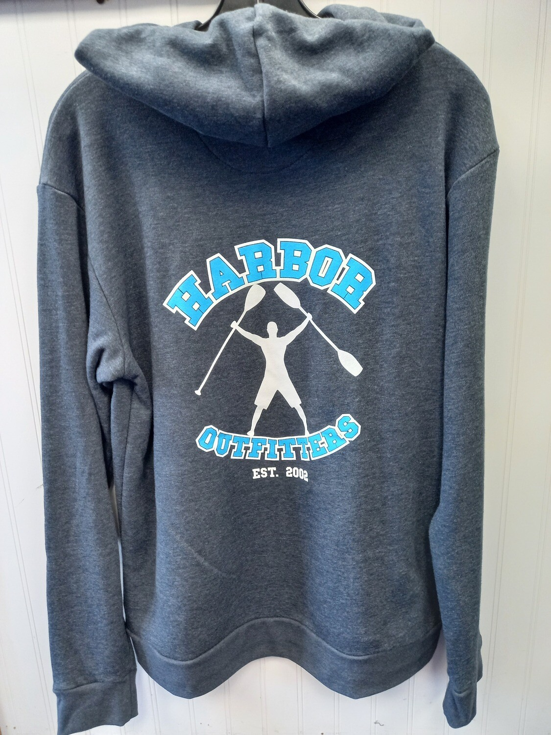 Harbor Outfitters Blue Logo Hoodie