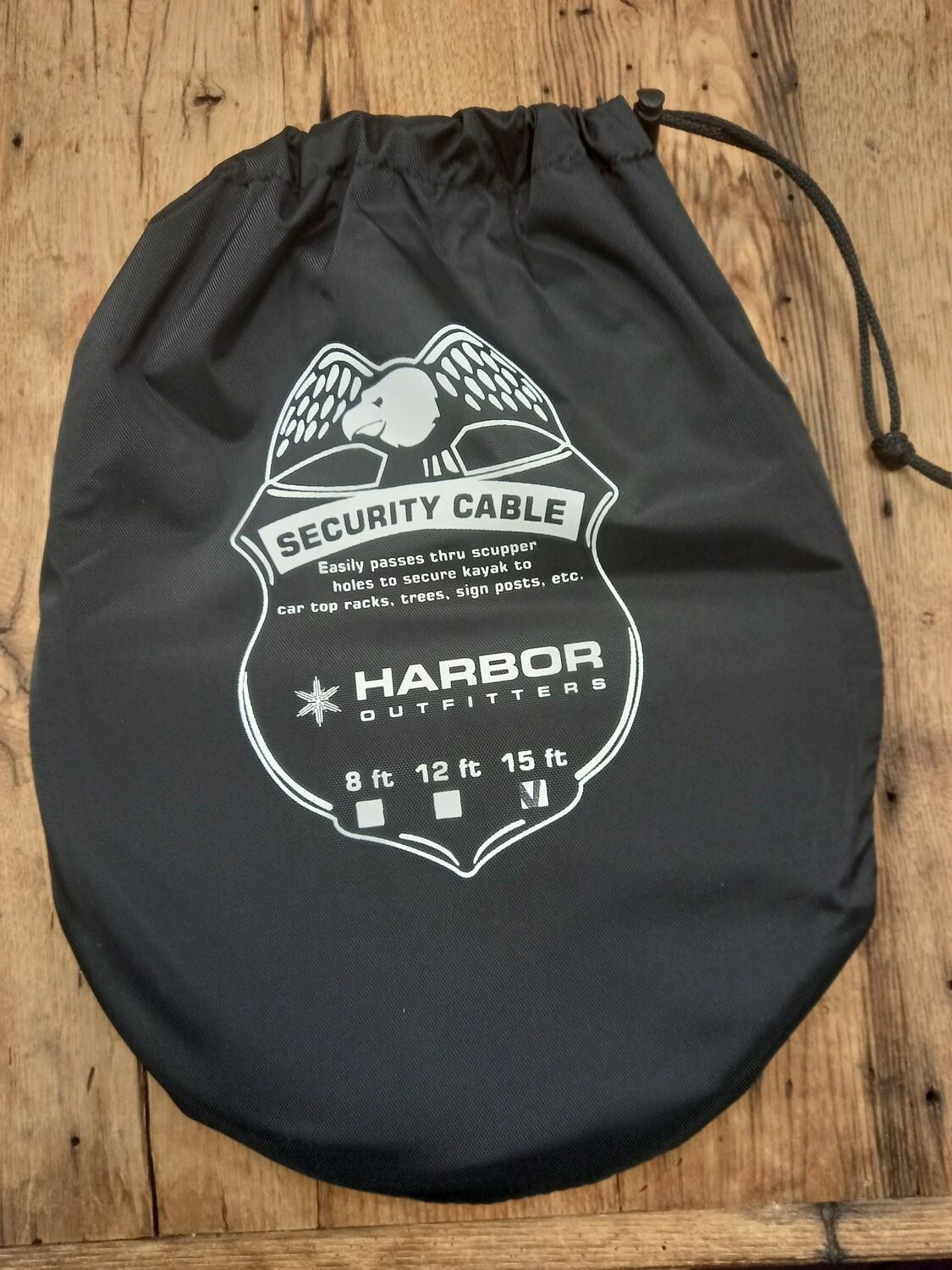 Harbor Outfitters Security cable with carry bag 15'