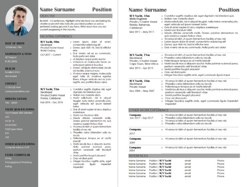 CV From Scratch