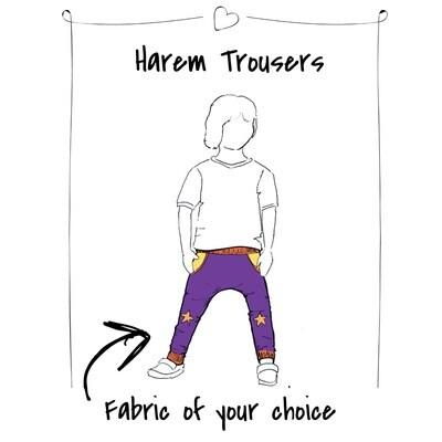 Custom Harem Trousers
