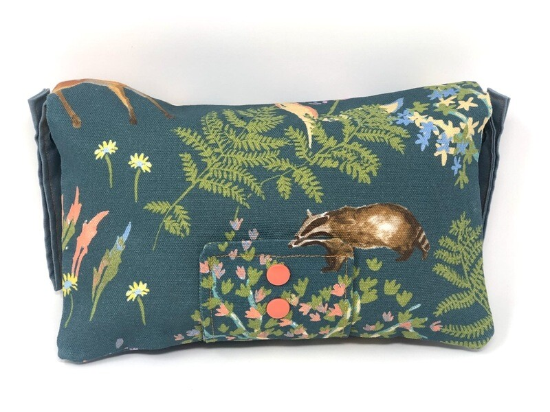Forest Nappy Clutch