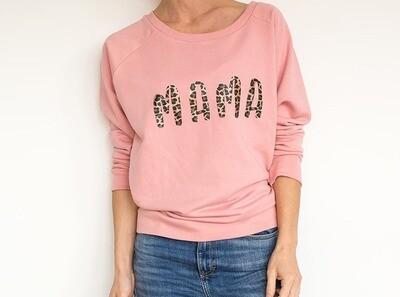 Organic 'Mama' Slogan Sweatshirt
