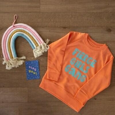 Organic 'Fierce Girls Gang' Sweatshirt