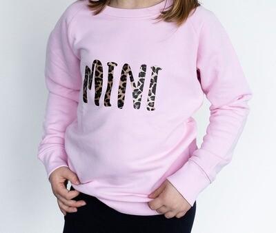 Organic 'Mini' Slogan Jumper