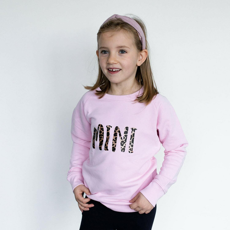Organic 'Mini' Slogan Sweatshirt