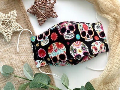 Fun & Stylish, Glasses Friendly Reusable Face Covering