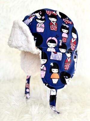 Kabuki Dolls Aviator Hat