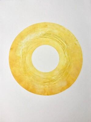 Grand disque jaune, Véronique SABLERY