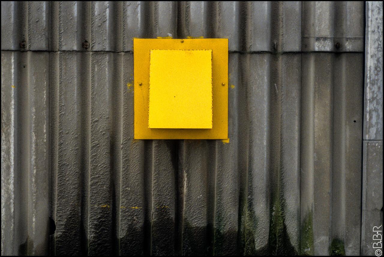 Les portes jaunes II , Bernard BRUGES-RENARD